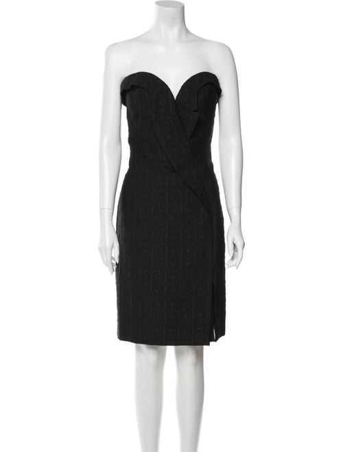 Stella McCartney Strapless Mini Dress Black