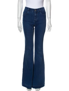 Stella McCartney Mid-Rise Wide Leg Jeans