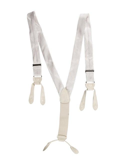 Stella McCartney Satin Suspenders White