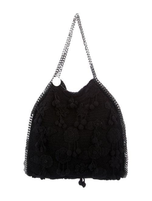 Stella McCartney Crochet Falabella Tote Black