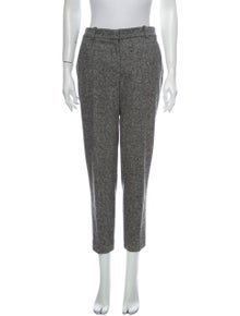 Stella McCartney Wool Straight Leg Pants
