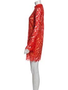 Stella McCartney Lace Pattern Mini Dress