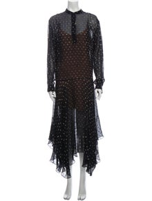 Stella McCartney Silk Long Dress
