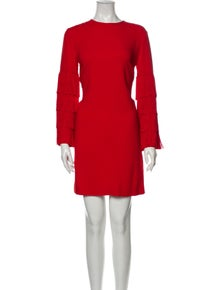 Stella McCartney Crew Neck Mini Dress