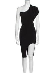 Stella McCartney One-Shoulder Mini Dress
