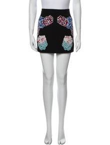 Stella McCartney Floral Print Mini Skirt