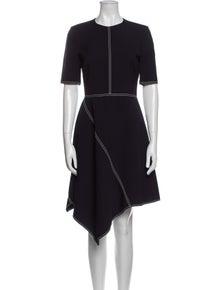 Stella McCartney Wool Midi Length Dress
