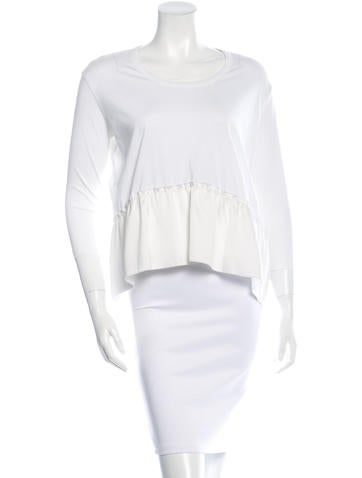 Stella McCartney Peplum Top None