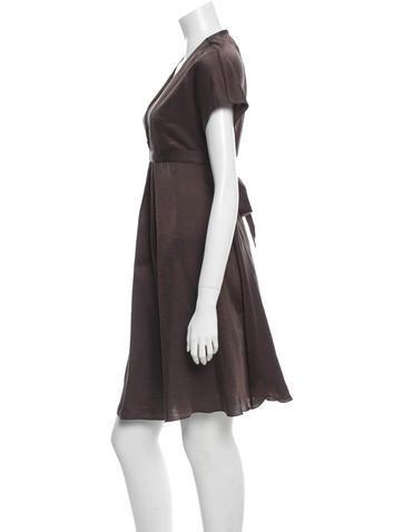 Silk & Wool-Blend Dress w/ Tags