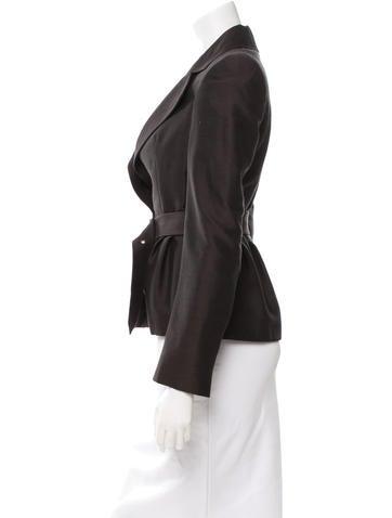 Wool & Silk-Blend Blazer