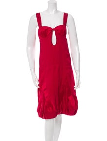 f8847e7d27f Stella McCartney. Cutout Silk Dress. Size  M ...