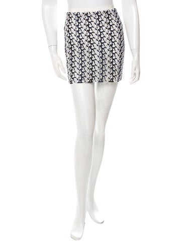 Stella McCartney Open Knit Mini Skirt w/ Tags None