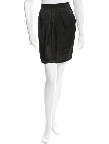 Stella McCartney Satin Mini Skirt