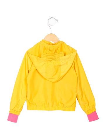 Girls' Hooded Windbreaker Jacket