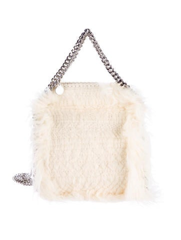 Mini Falabella Faux-Fur Tote Bag