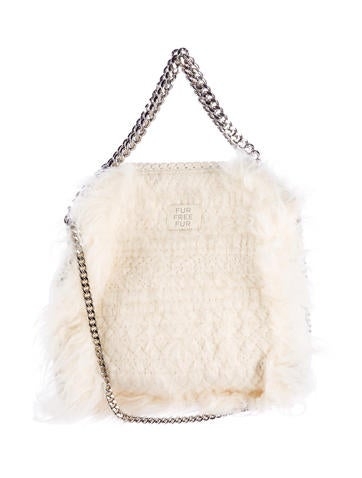 Mini Falabella Faux-Fur Tote Bag