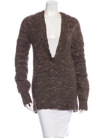 Stella McCartney Oversized Long Sleeve Sweater None