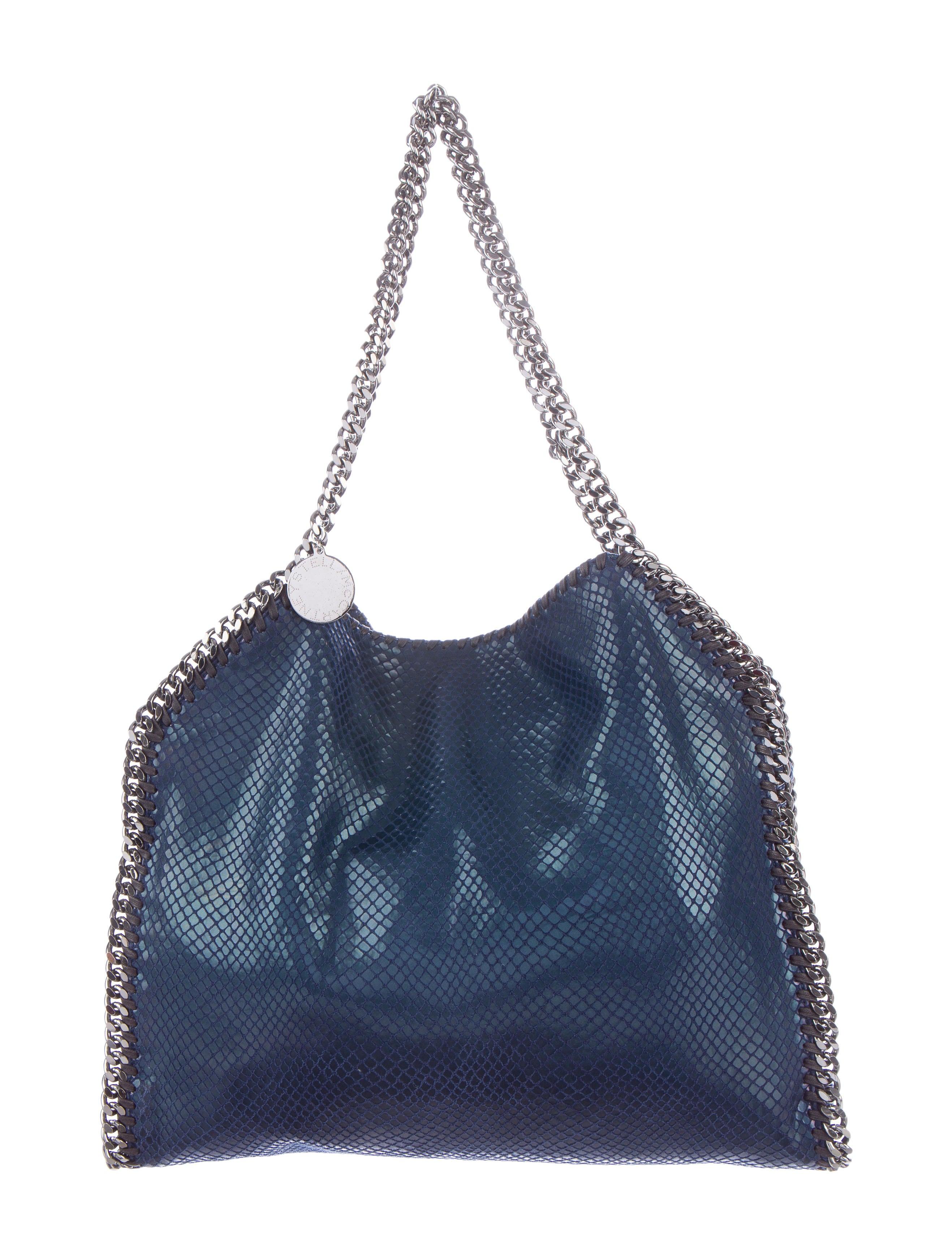 stella mccartney embossed falabella bag handbags stl39669 the realreal. Black Bedroom Furniture Sets. Home Design Ideas