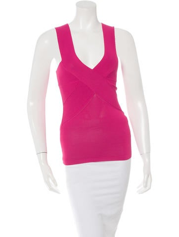 Stella McCartney Sleeveless Fitted Top None