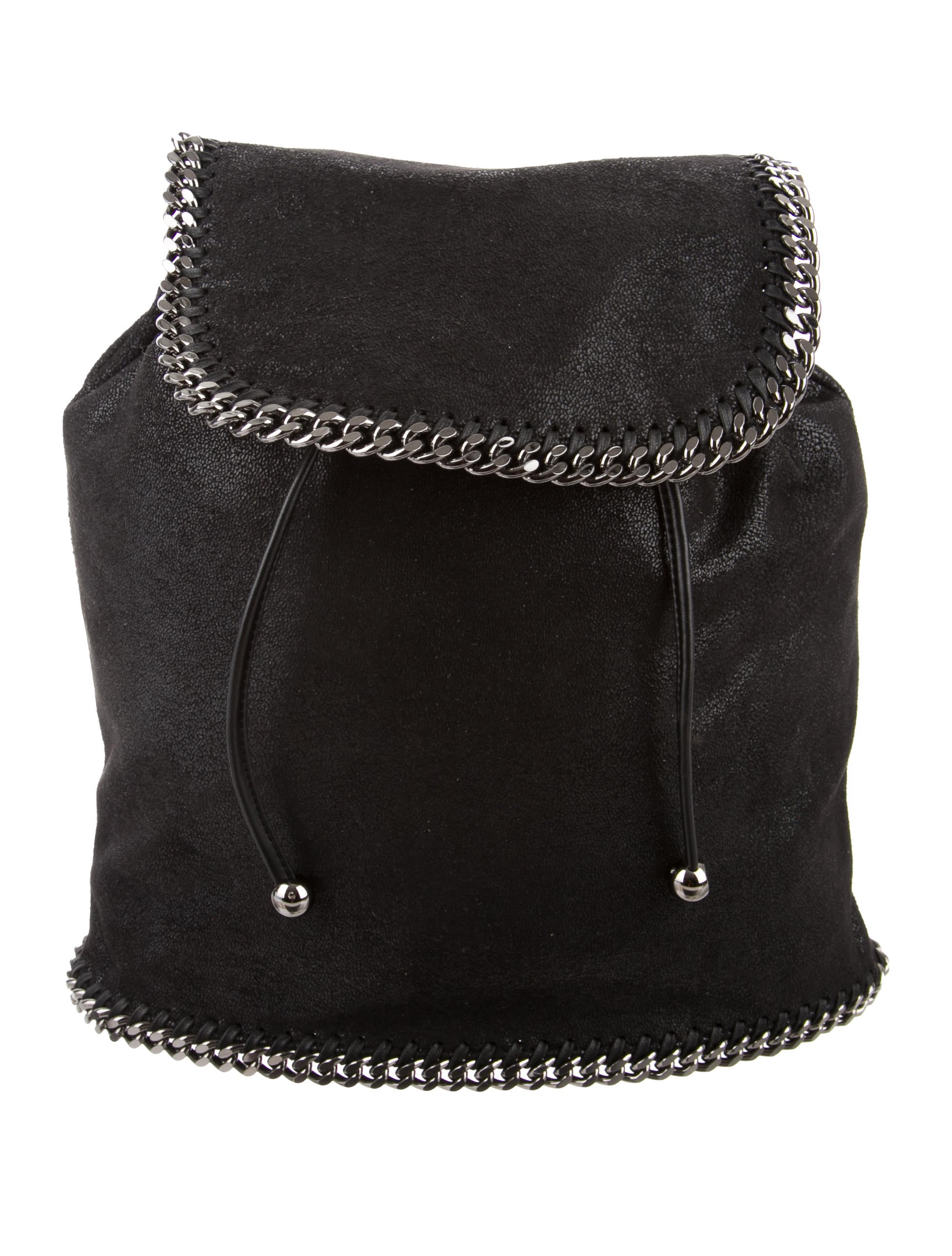 stella mccartney shaggy deer falabella rucksack w tags handbags stl40200 the realreal. Black Bedroom Furniture Sets. Home Design Ideas