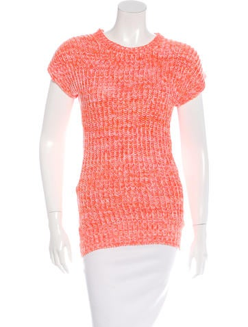 Stella McCartney Sleeveless Rib Knit Top None