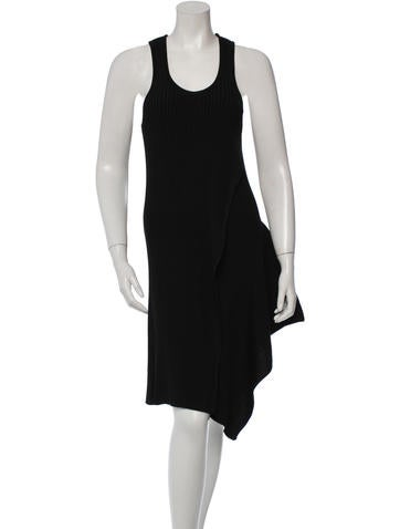 Stella McCartney Racerback Midi Dress None