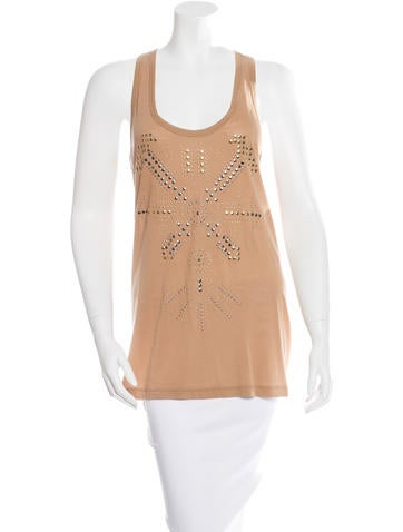 Stella McCartney Sleeveless Embellished Top