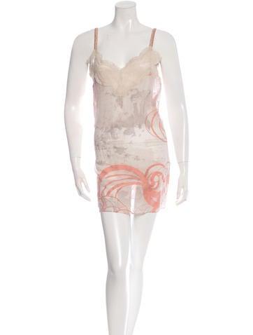 Stella McCartney Sleeveless Silk Dress