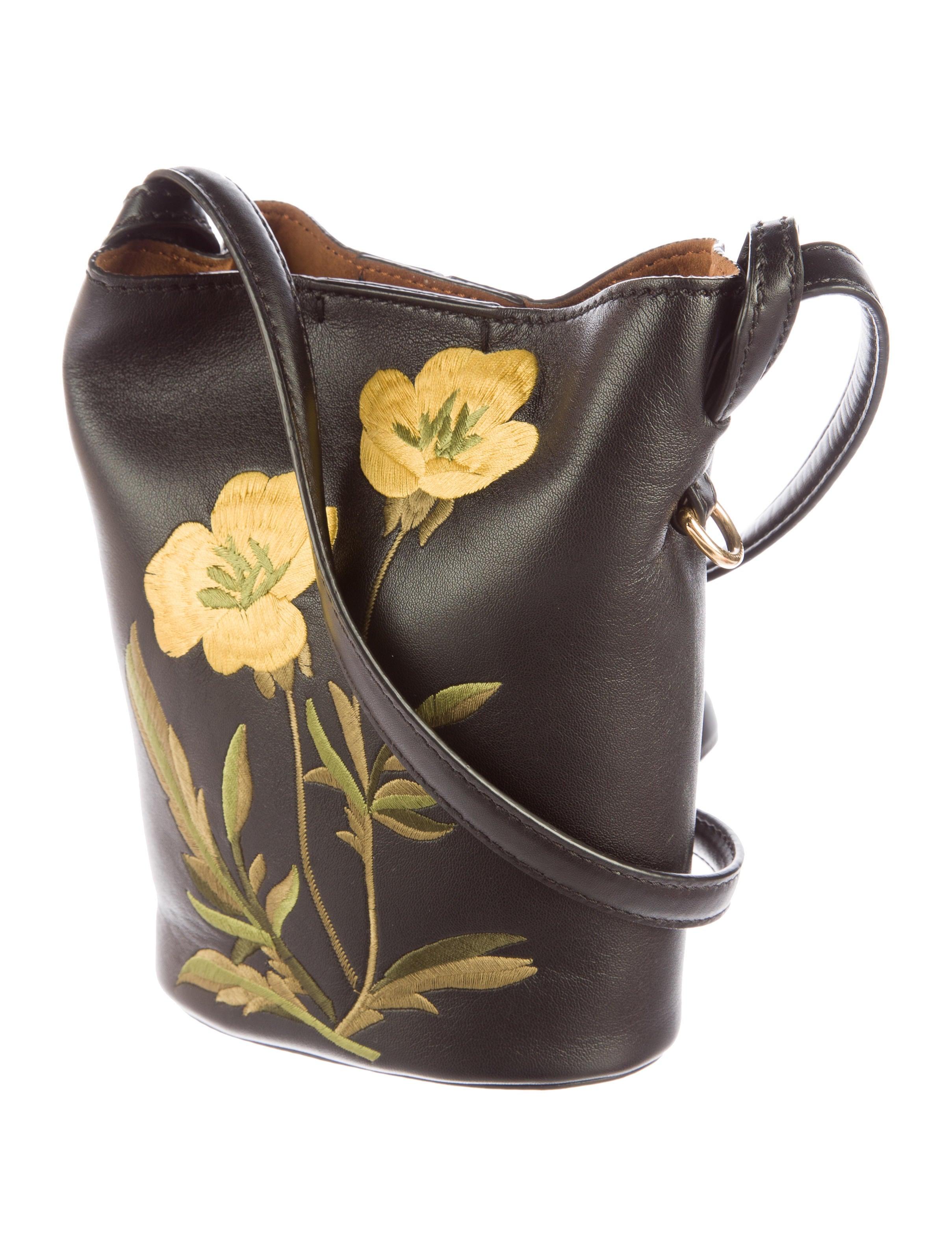 Stella Mccartney 2016 Embroidered Crossbody Bag Handbags