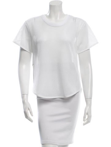 Stella McCartney Mesh T-Shirt None