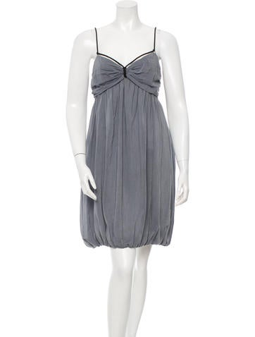 Stella McCartney Draped Rope-Accented Dress None