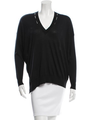 Stella McCartney V-Neck Knit Top w/ Tags None