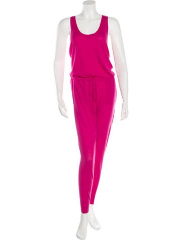 Stella McCartney Wool Sleeveless Jumpsuit None