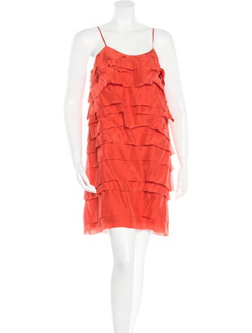 Stella McCartney Silk Tiered Dress w/ Tags None