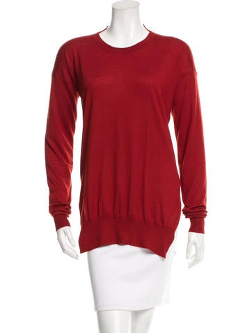 Stella McCartney Cashmere & Silk-Blend Top None