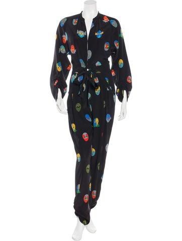 Stella McCartney Resort 2015 Superhero Jumpsuit None