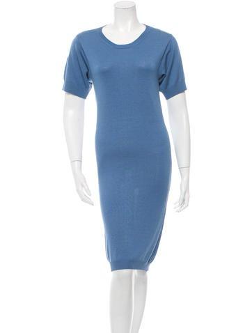 Stella McCartney Short Sleeve Sweater Dress None