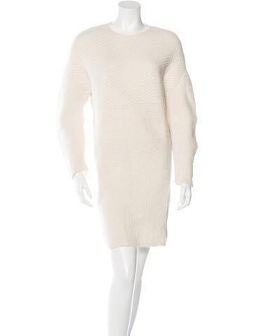 Stella McCartney Virgin Wool Sweater Dress None