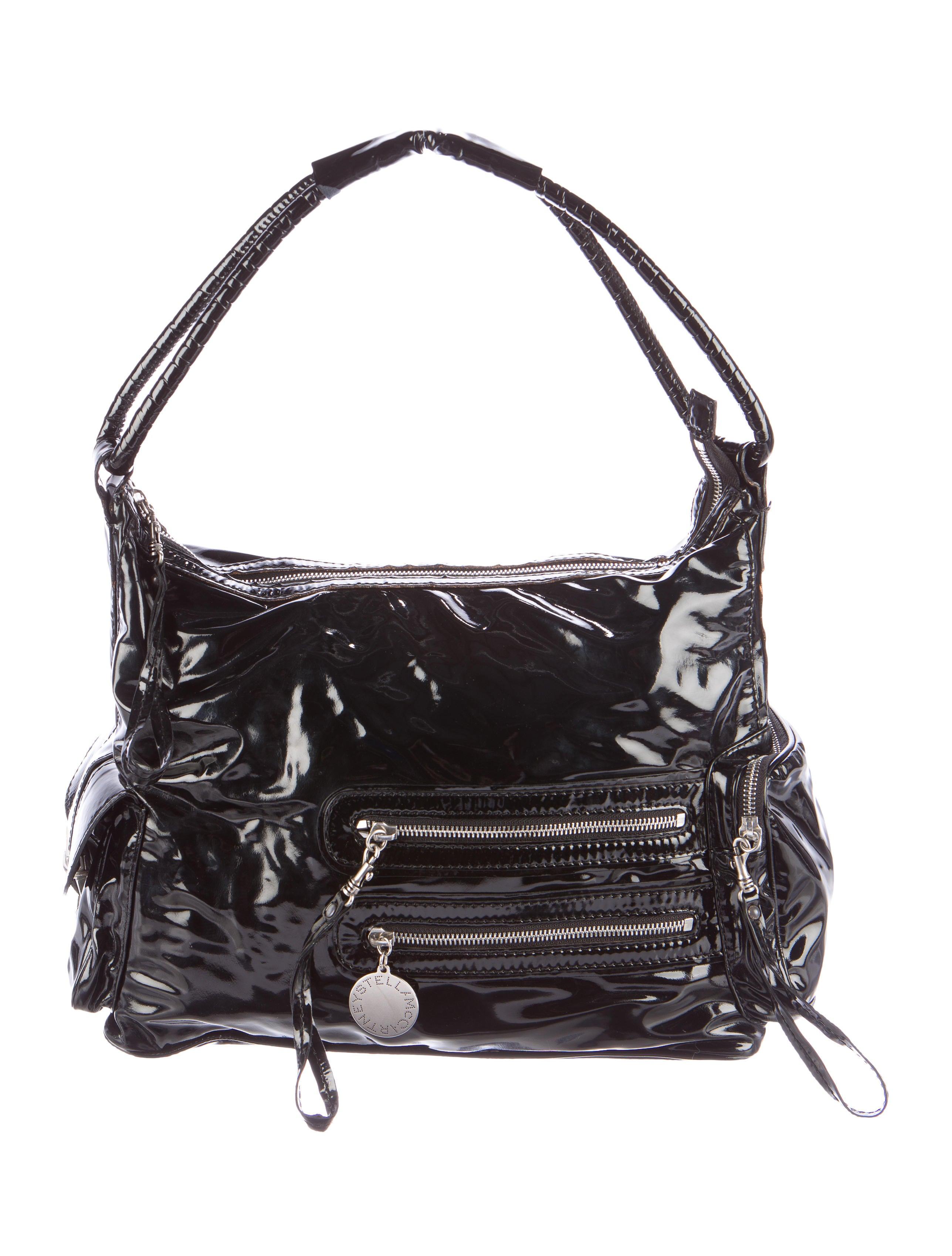 Stella Mccartney Glazed Vegan Leather Bag Handbags