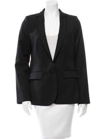Stella McCartney Wool Button-Up Blazer