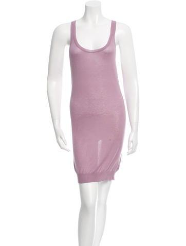 Stella McCartney Cashmere & Silk Mini Dress None
