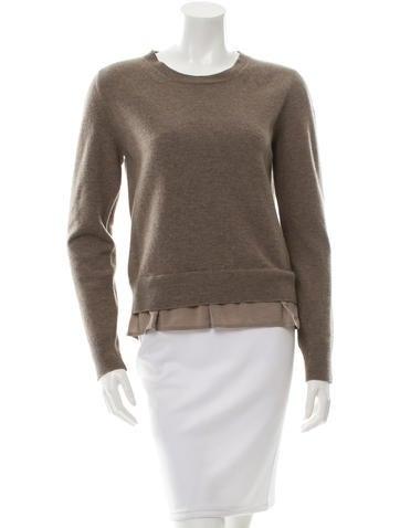 Stella McCartney Wool Scoop Neck Sweater None