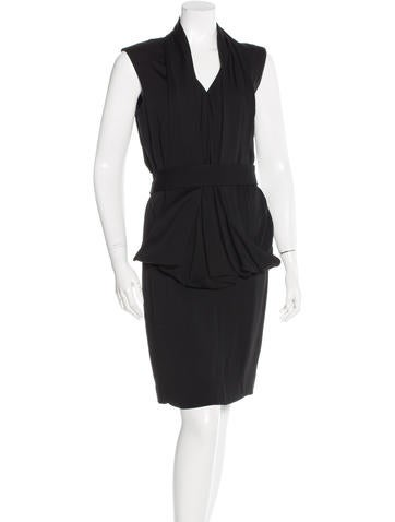 Stella McCartney Draped Belted Dress w/ Tags None