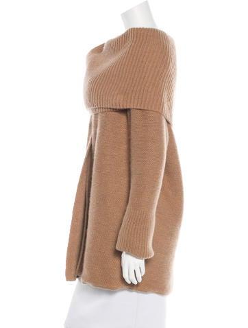 Wool Oversize Cardigan