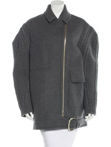 Stella McCartney 2016 Wool Coat w/ Tags None