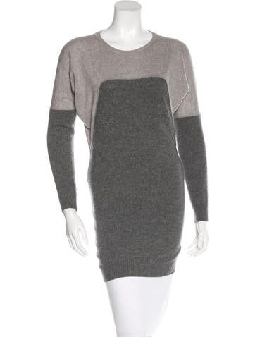 Stella McCartney Virgin Wool Two-Tone Sweater None