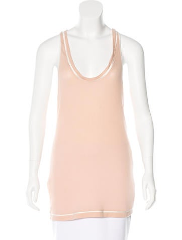 Stella McCartney Rib Knit Sleeveless Top w/ Tags None