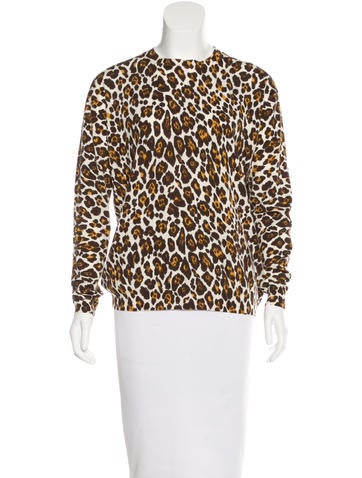 Stella McCartney Virgin Wool Patterned Top None