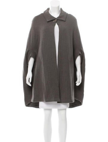 Stella McCartney Wool Cape None