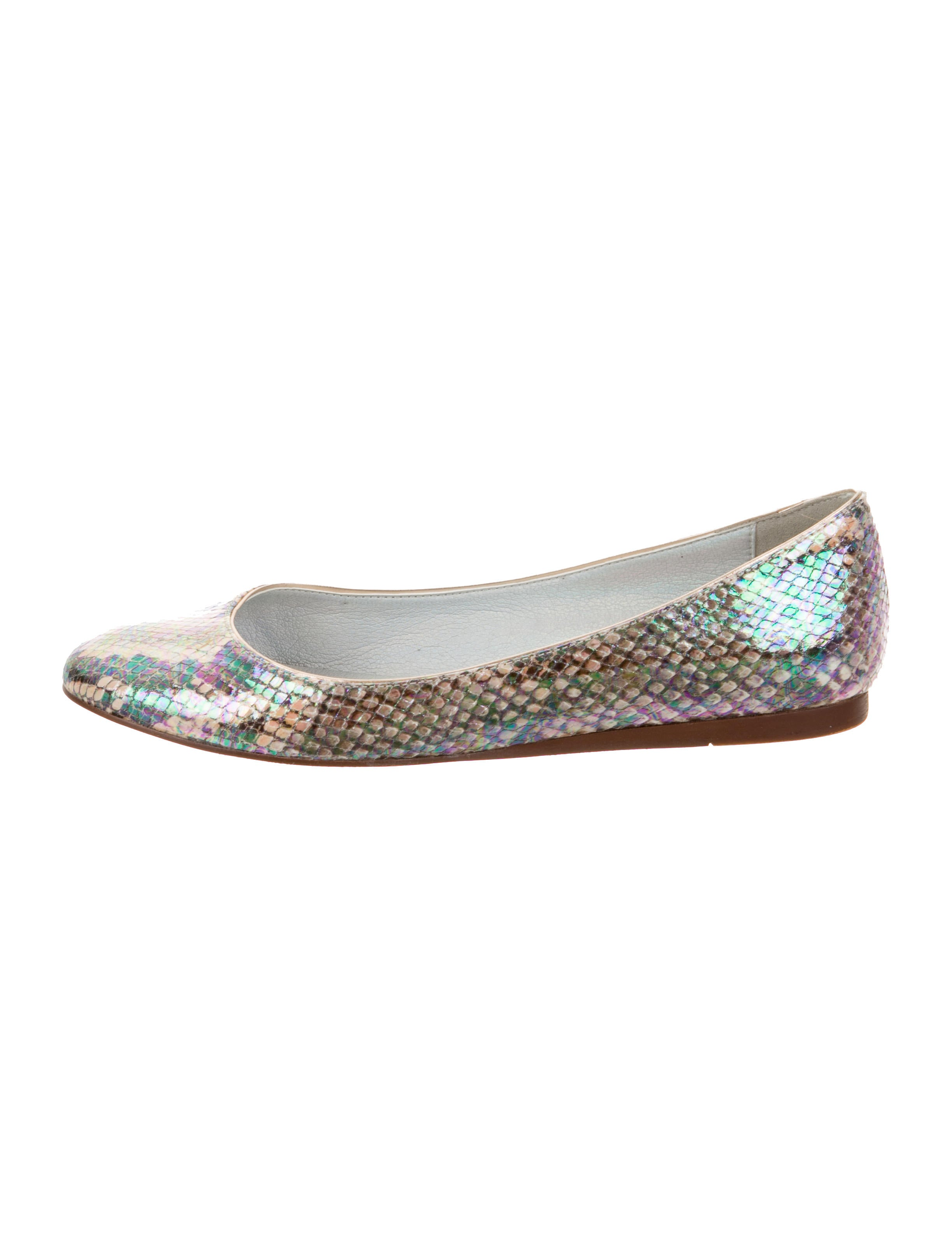 cheap cost sale sale online Stella McCartney Vegan Embossed Leather Flats sale outlet store low price fee shipping sale online factory outlet for sale 0cdLlRS